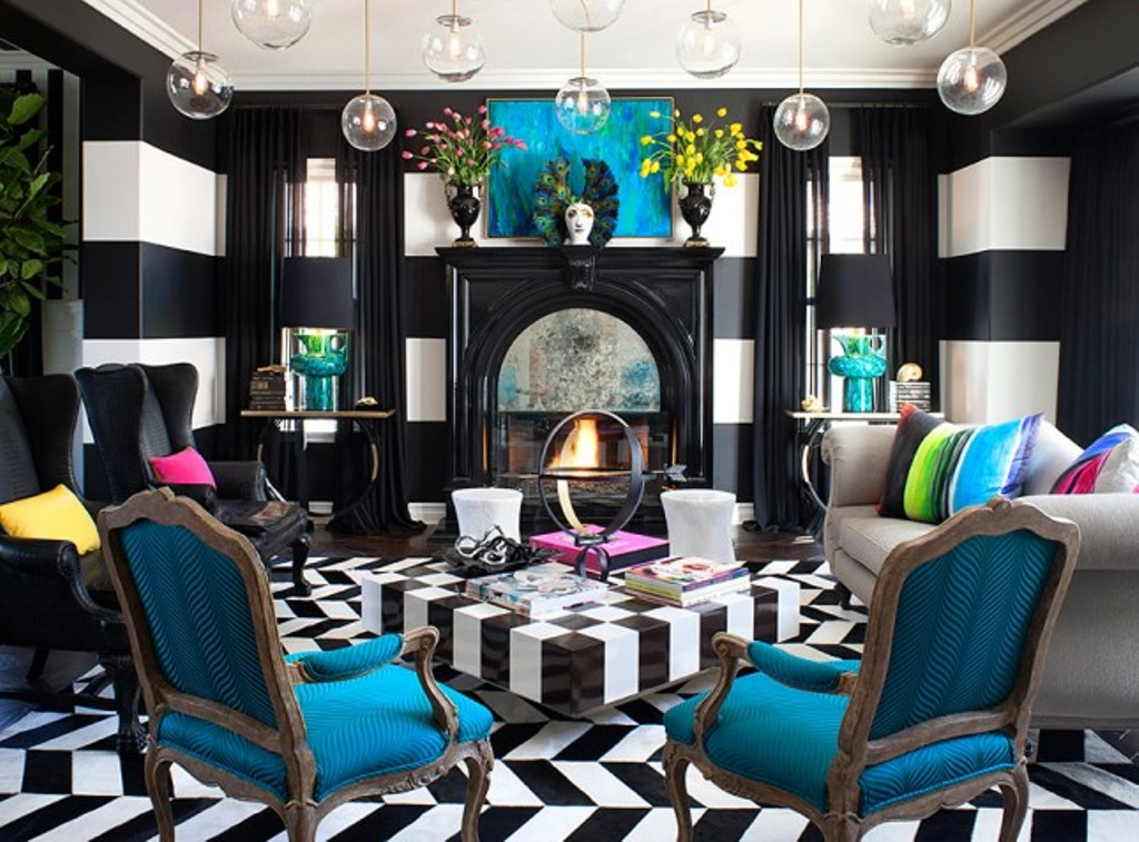 black-rooms-9 The Latest & Hottest Home Decoration Trends in 2017