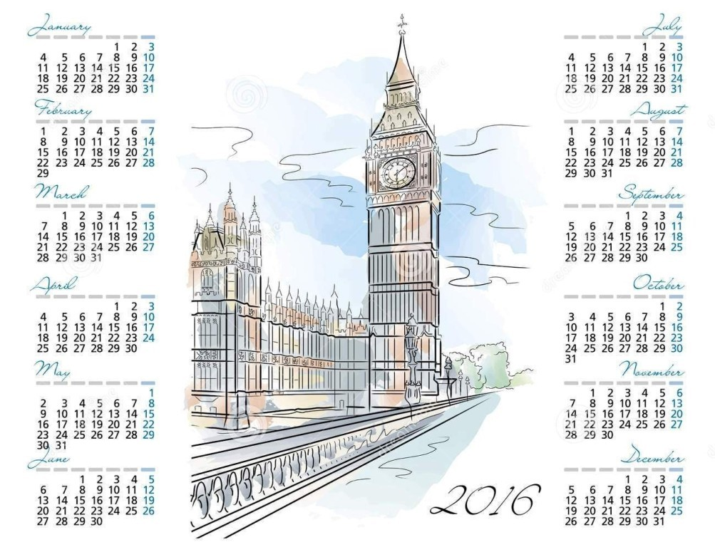 calendar-2016-12 64 Breathtaking 2018 Printable Calendar Templates