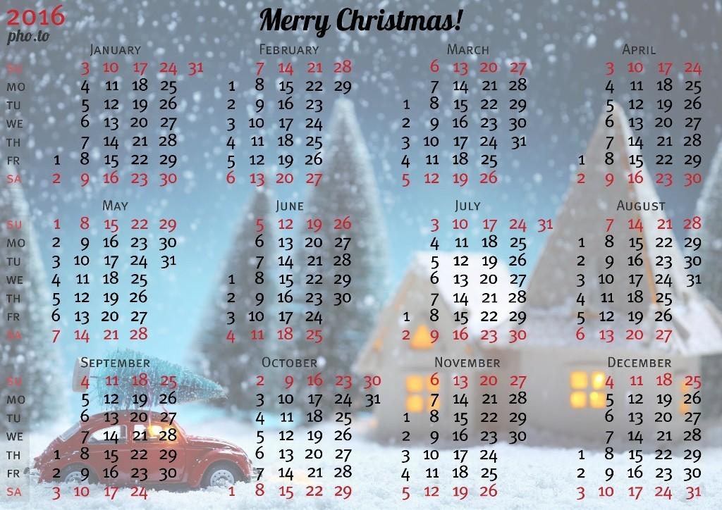 calendar-2016-18 64 Breathtaking 2018 Printable Calendar Templates
