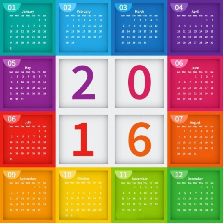 calendar-2016-22 64 Breathtaking 2018 Printable Calendar Templates
