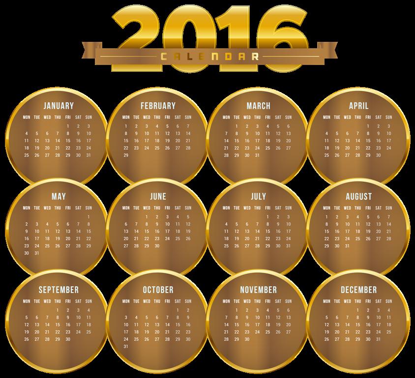 calendar-2016-28 64 Breathtaking 2018 Printable Calendar Templates