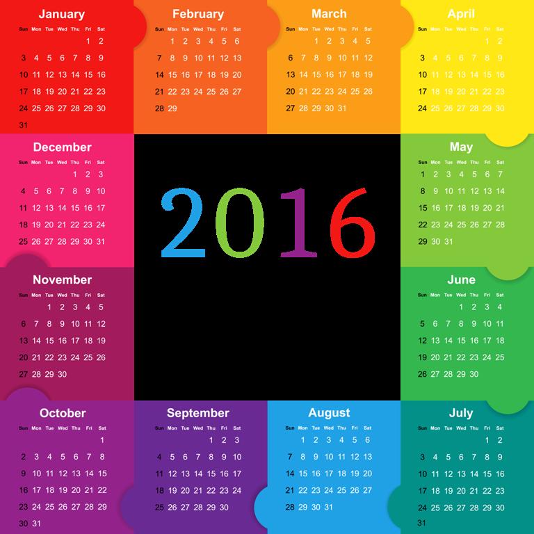 calendar-2016-32 64 Breathtaking 2018 Printable Calendar Templates