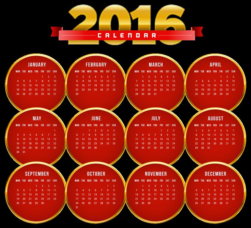 calendar-2016-33 64 Breathtaking 2018 Printable Calendar Templates