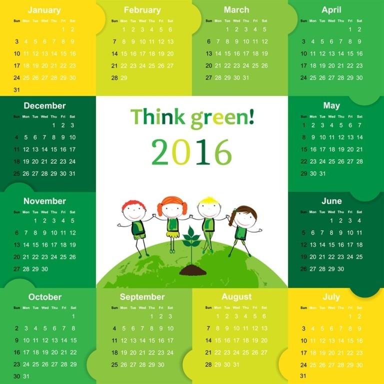 calendar-2016-51 64 Breathtaking 2018 Printable Calendar Templates