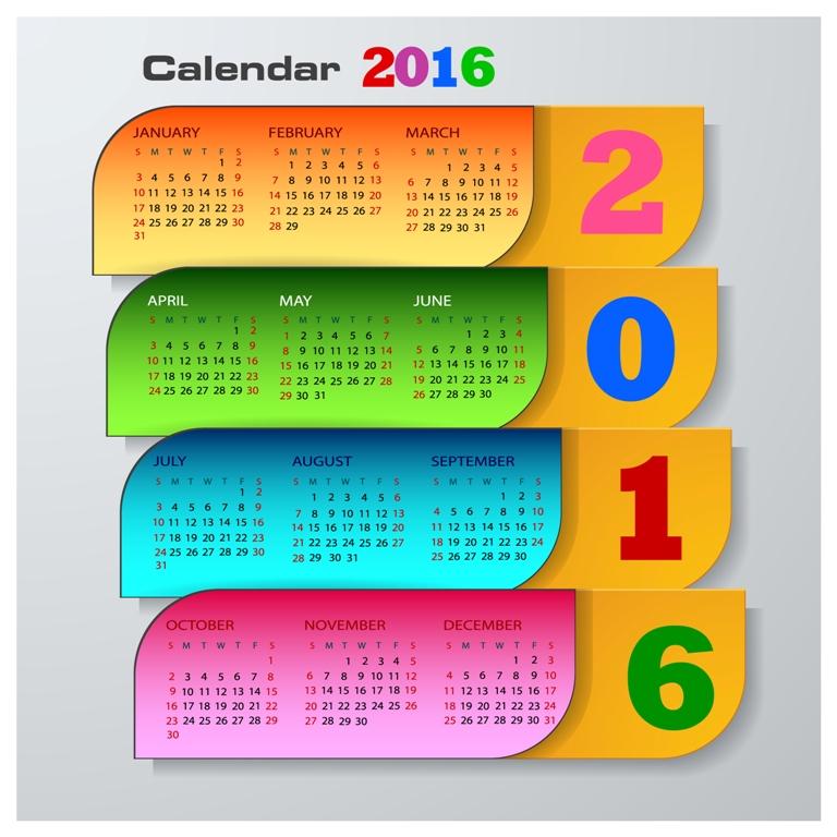 calendar-2016-7 64 Breathtaking 2018 Printable Calendar Templates