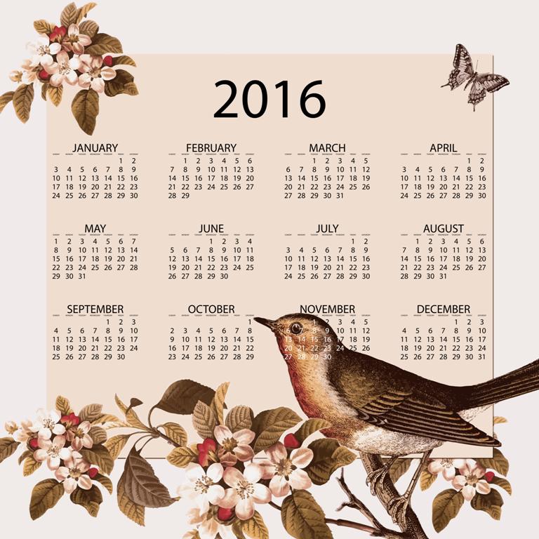 calendra-2016. 64 Breathtaking 2018 Printable Calendar Templates