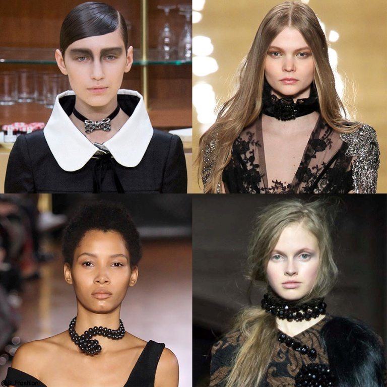 chokers-8 65+ Hottest Jewelry Trends for Women in 2019