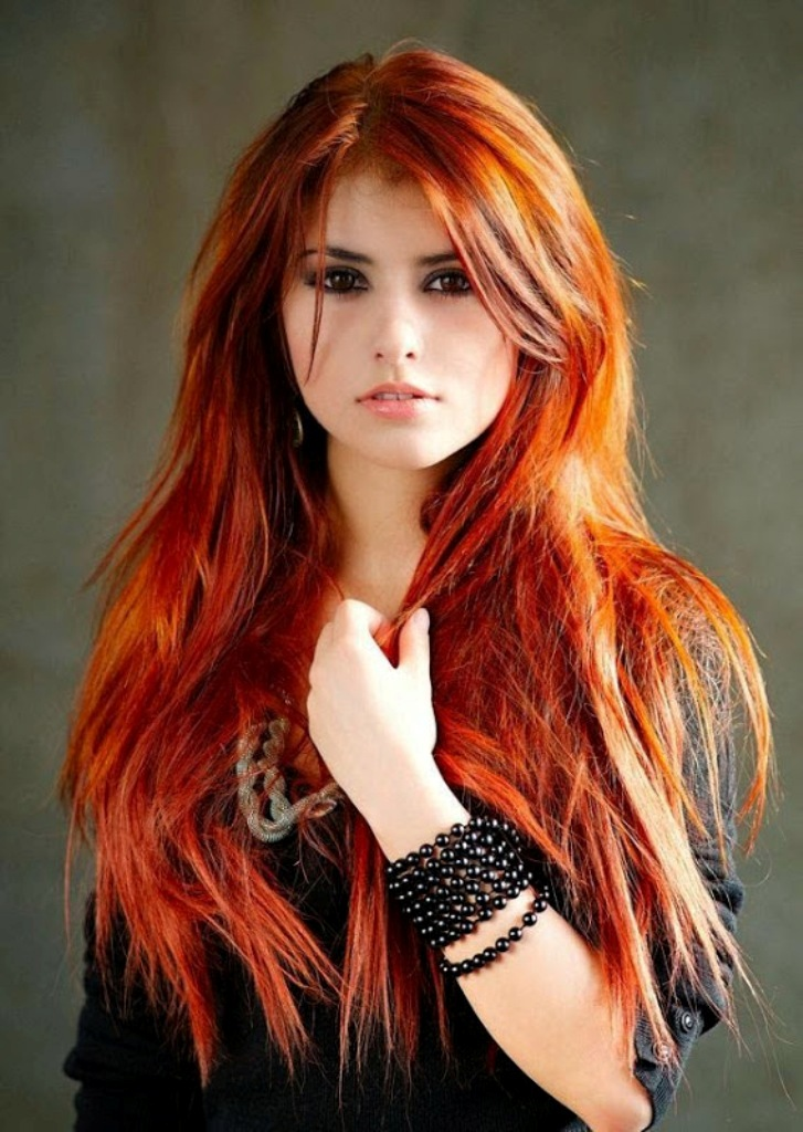 coppery-red-3 20+ Hottest Hair Color Trends for Women