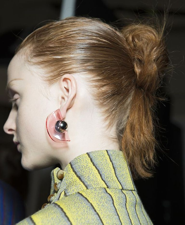 drop-single-hoop-and-statement-earrings-15 65+ Hottest Jewelry Trends for Women in 2019