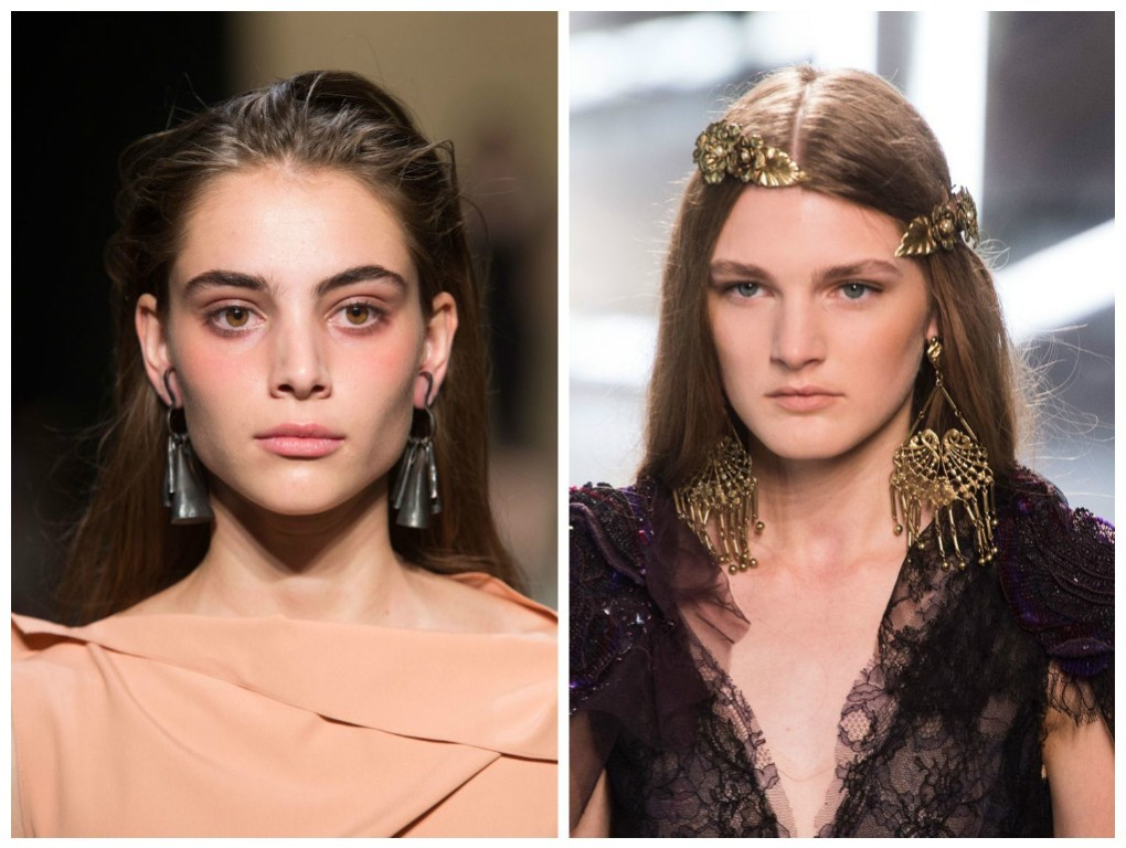 drop-single-hoop-and-statement-earrings-17 65+ Hottest Jewelry Trends for Women in 2020