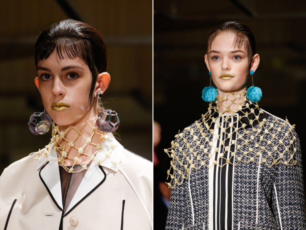 drop-single-hoop-and-statement-earrings-18 65+ Hottest Jewelry Trends for Women in 2020