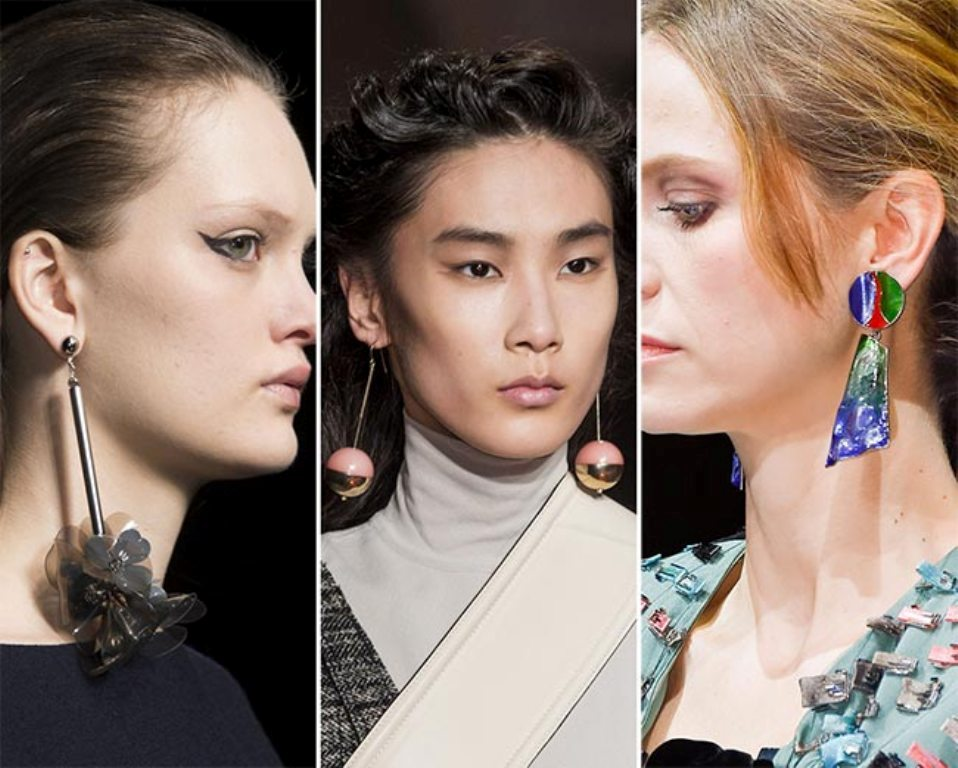 drop-single-hoop-and-statement-earrings-21 65+ Hottest Jewelry Trends for Women in 2020