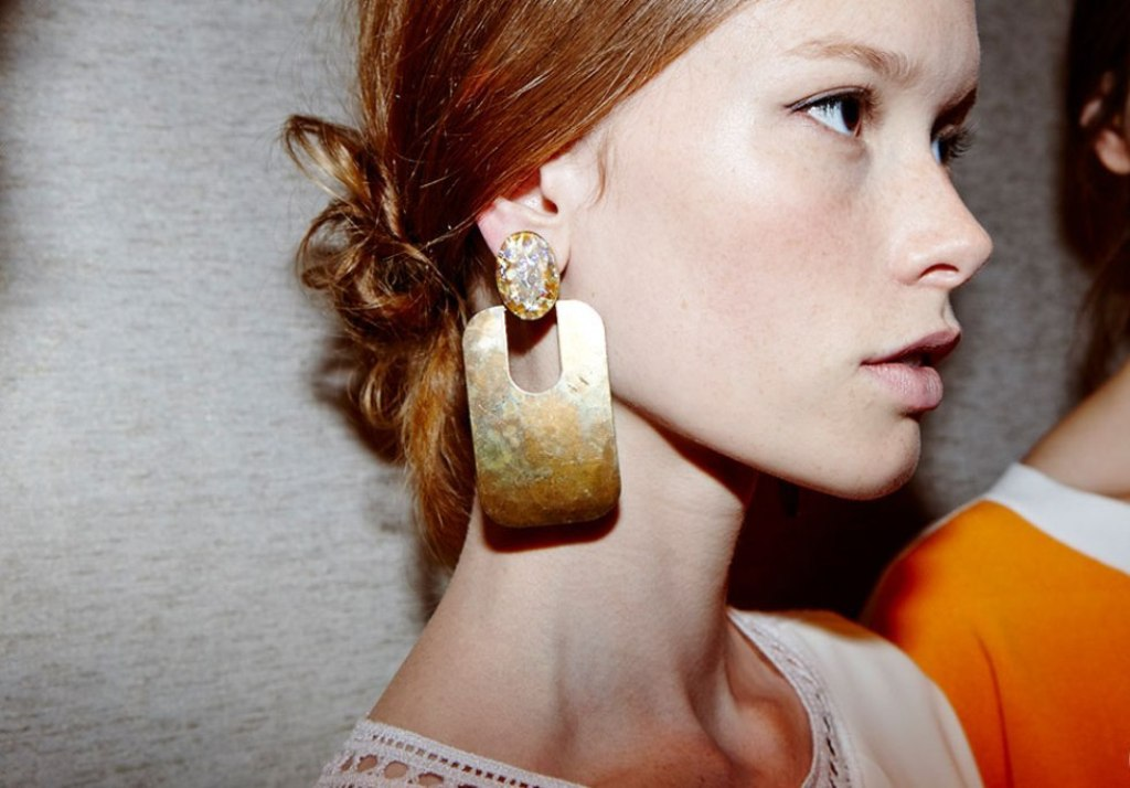 drop-single-hoop-and-statement-earrings-4 65+ Hottest Jewelry Trends for Women in 2019