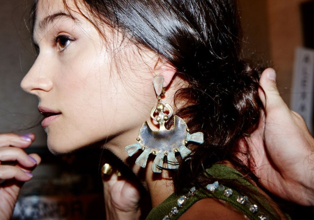 drop-single-hoop-and-statement-earrings-5 65+ Hottest Jewelry Trends for Women in 2020