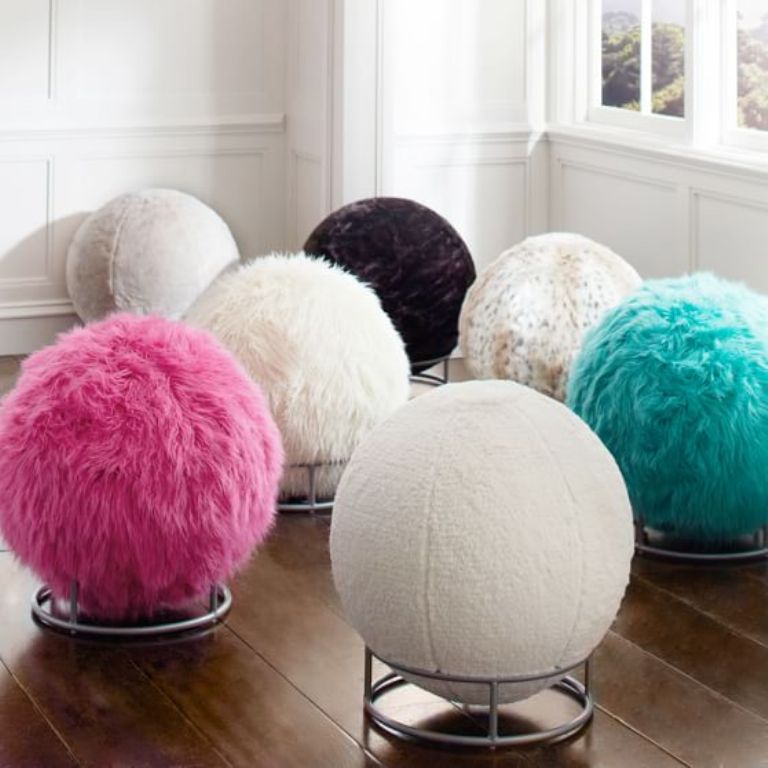 fur-chair-2 The Latest & Hottest Home Decoration Trends in 2017