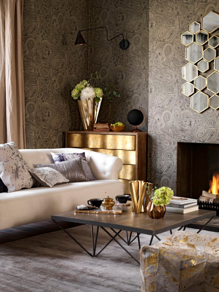 gold-for-more-luxury-3 The Latest & Hottest Home Decoration Trends in 2017