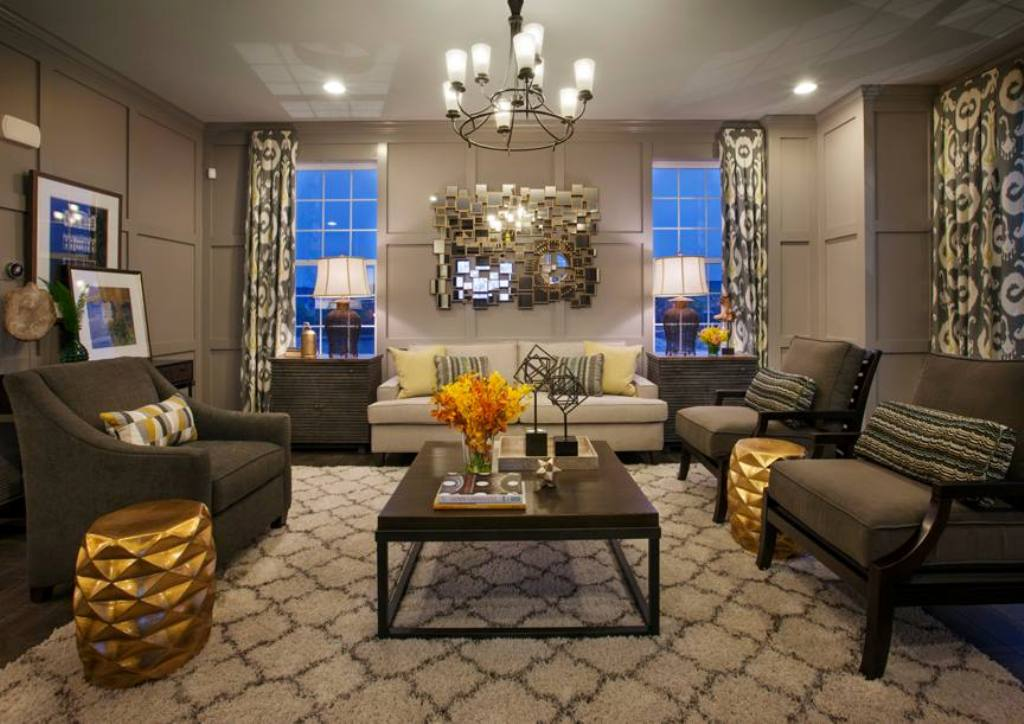 gold-for-more-luxury-4 The Latest & Hottest Home Decoration Trends in 2017