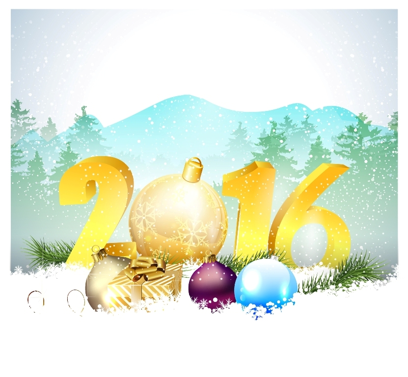 happy-new-year-2016-2 2016 Merry Christmas & Happy New Year Greeting Cards