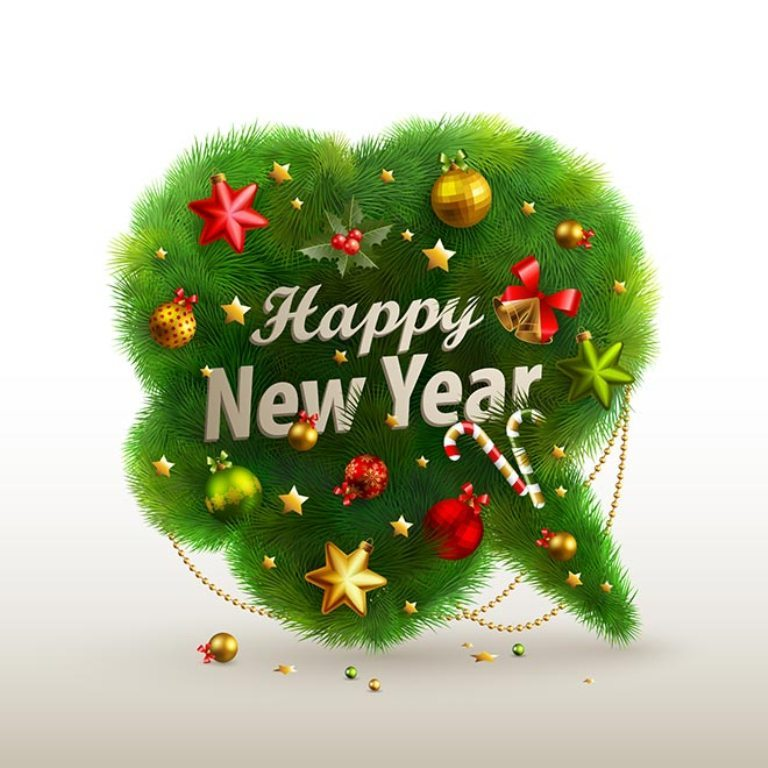 happy-new-year-2016-70 50+ Best Merry Christmas & Happy New Year Greeting Cards 2019 - 2020
