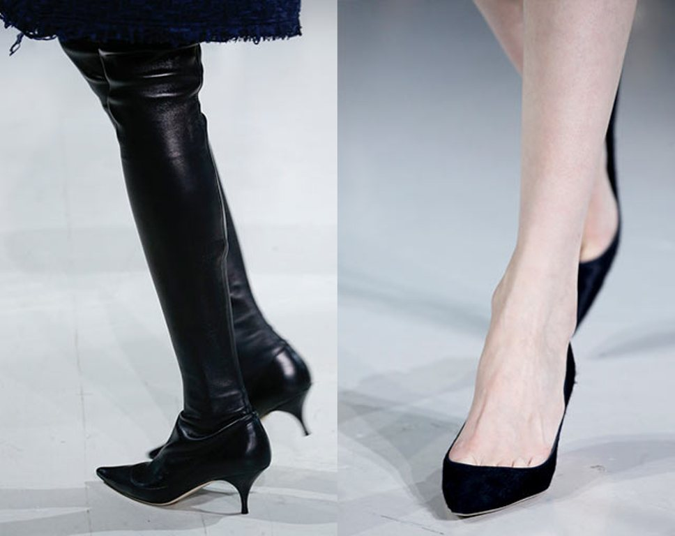 low-heels-3 The Latest Shoe Trends for Women in 2016
