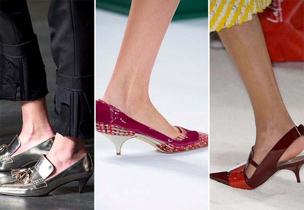 low-heels-5 The Latest Shoe Trends for Women in 2016