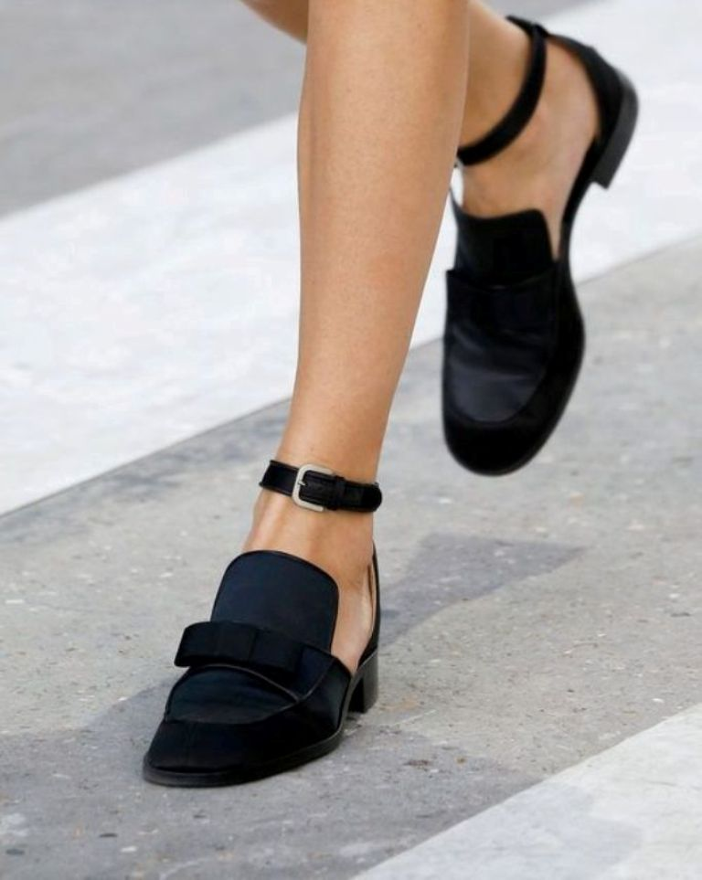low-heels The Latest Shoe Trends for Women in 2016