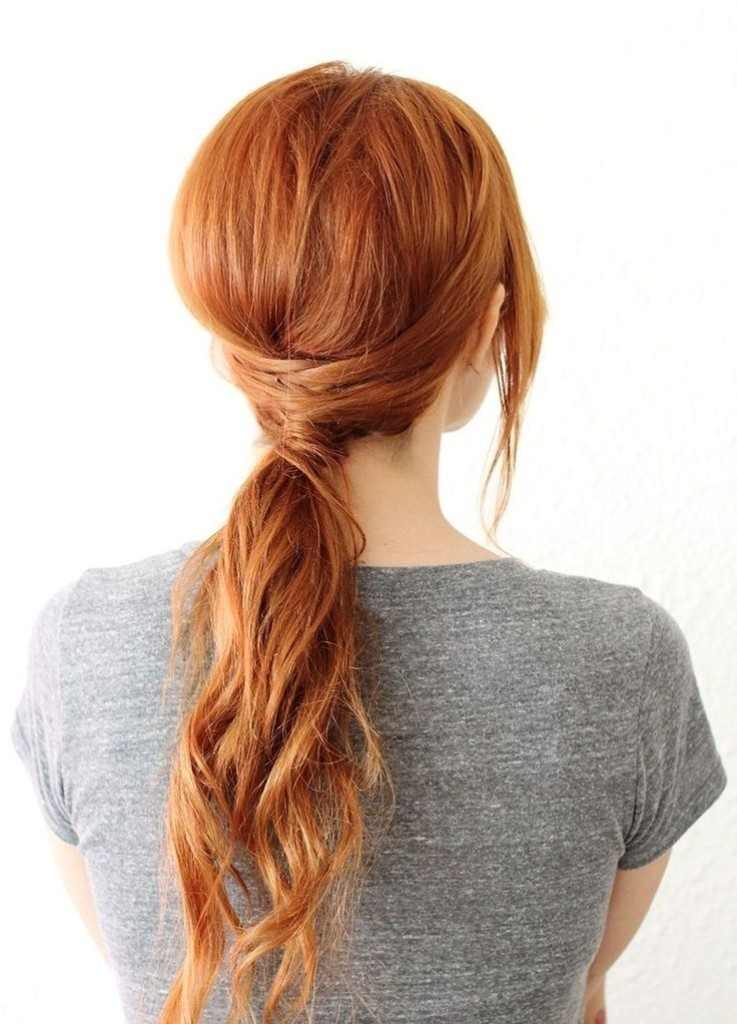 low-ponytail-1 27 Latest Hairstyle Trends for Women in 2017