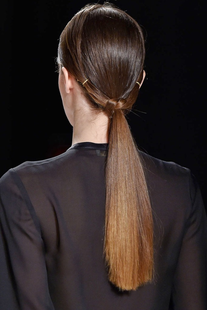low-ponytail-3 27 Latest Hairstyle Trends for Women in 2017