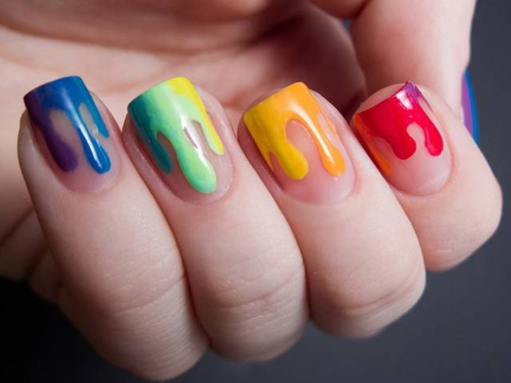 negative-spacce-nails-1 45+ Hottest & Catchiest Nail Polish Trends in 2021