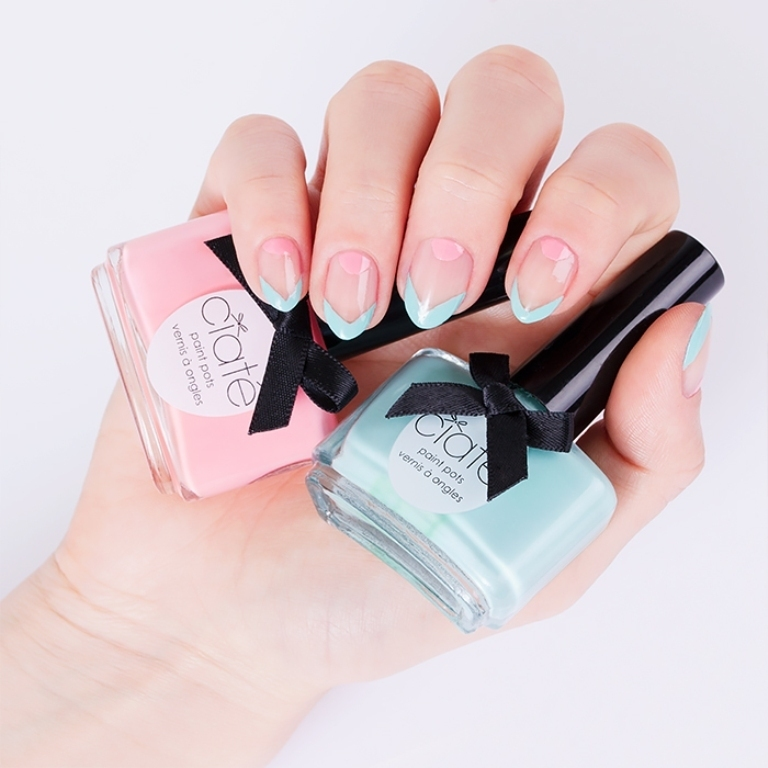 negative-spacce-nails-3 45+ Hottest & Catchiest Nail Polish Trends in 2020