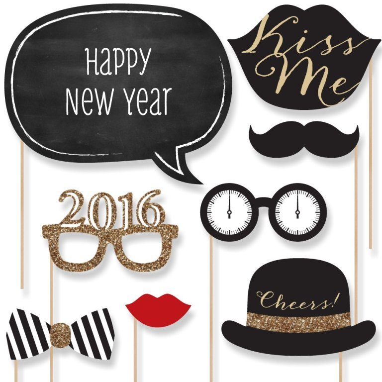 new-year-2016-decoration-1 53+ Awesome New Year's Eve Decorating Ideas 2019