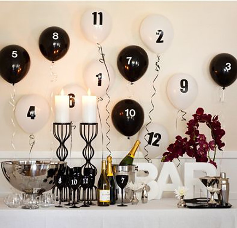 new-year-2016-decoration-31 53 Awesome New Year's Eve 2017 Decorating Ideas
