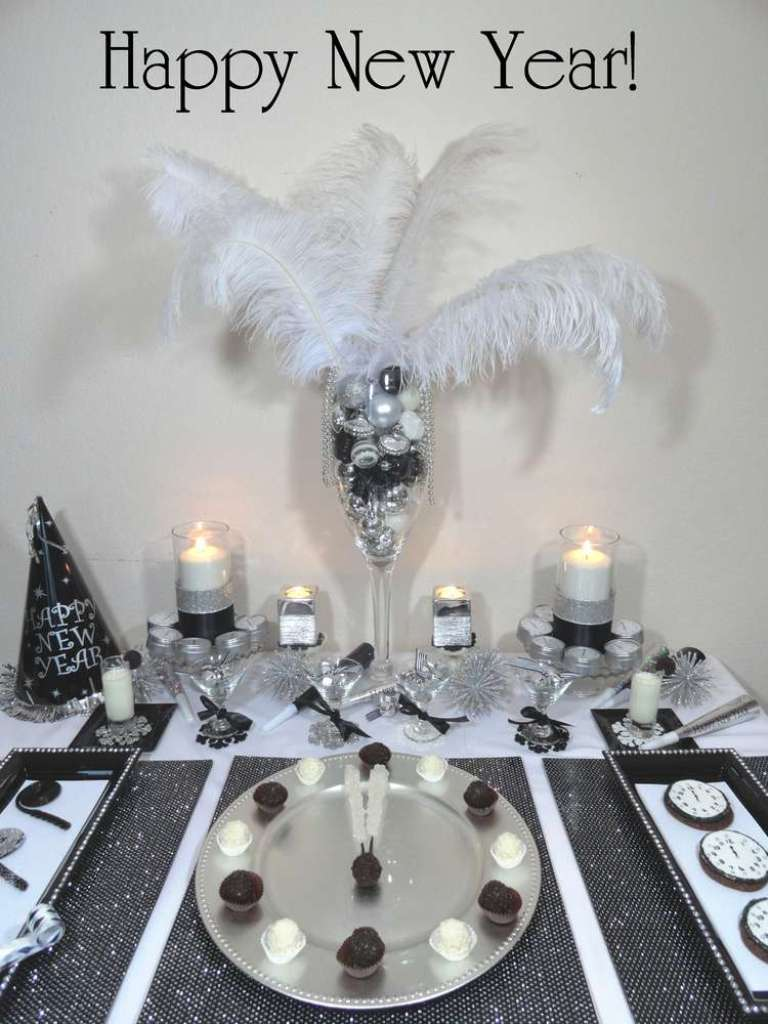 new-year-2016-decoration-50 53+ Awesome New Year's Eve Decorating Ideas 2019