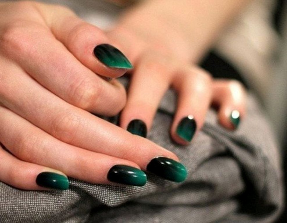 ombre-nails-3 45 Hottest & Catchiest Nail Polish Trends in 2017