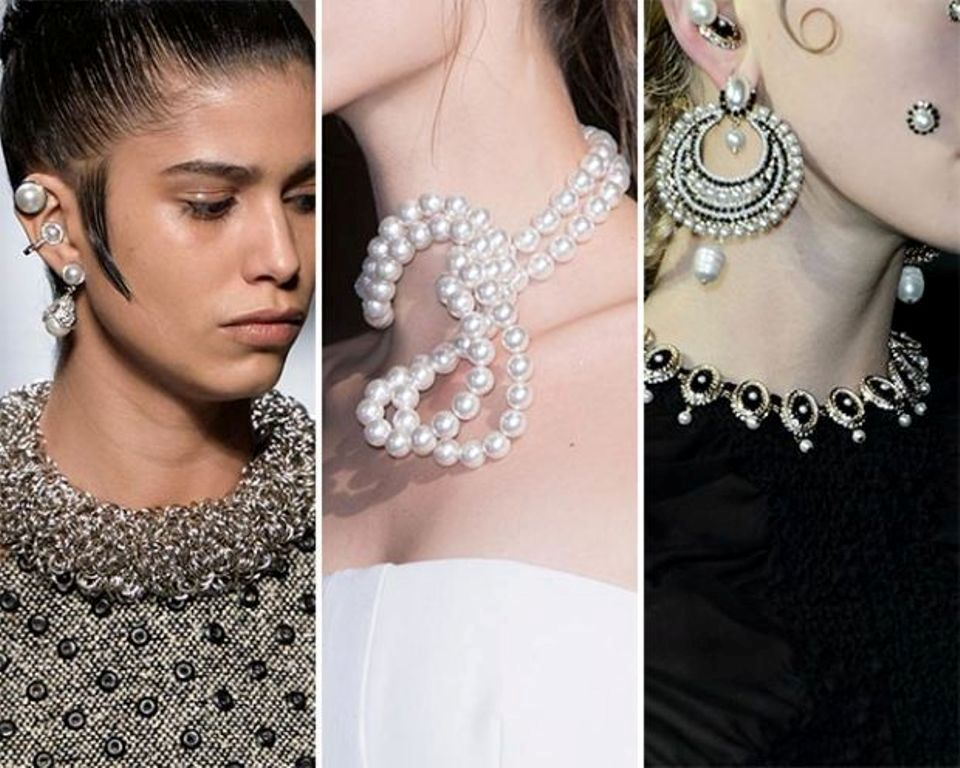 pearls-and-chains-5 65+ Hottest Jewelry Trends for Women in 2019