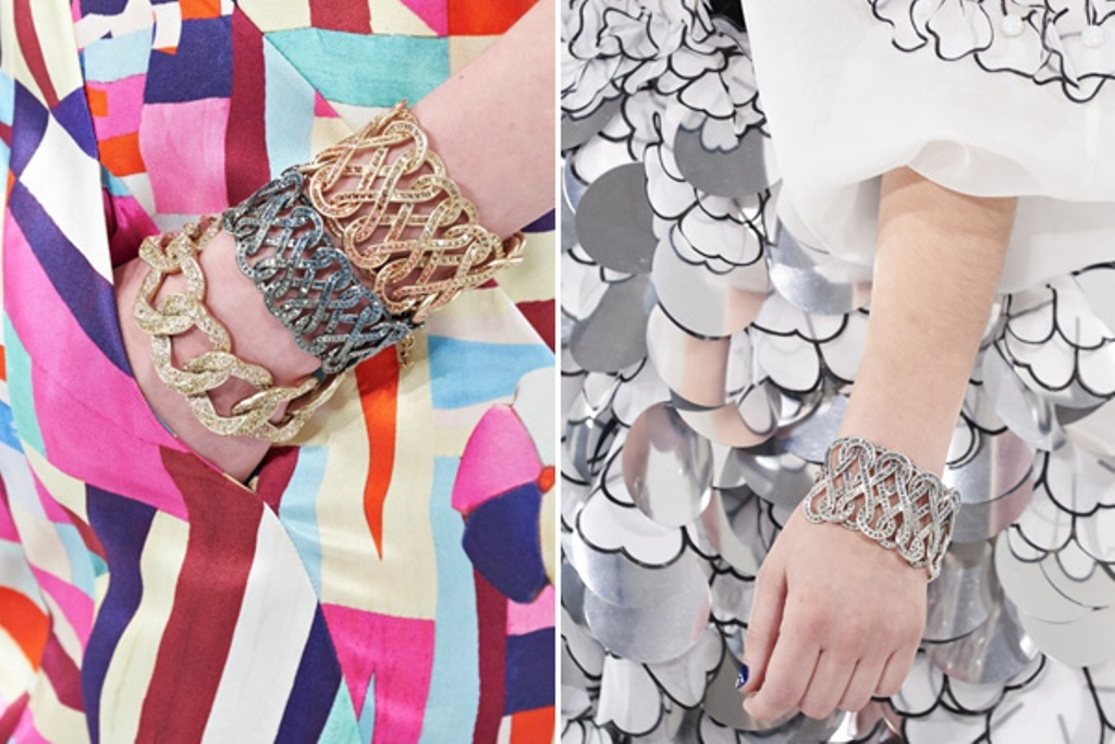 pearls-and-chains-8 65+ Hottest Jewelry Trends for Women in 2019