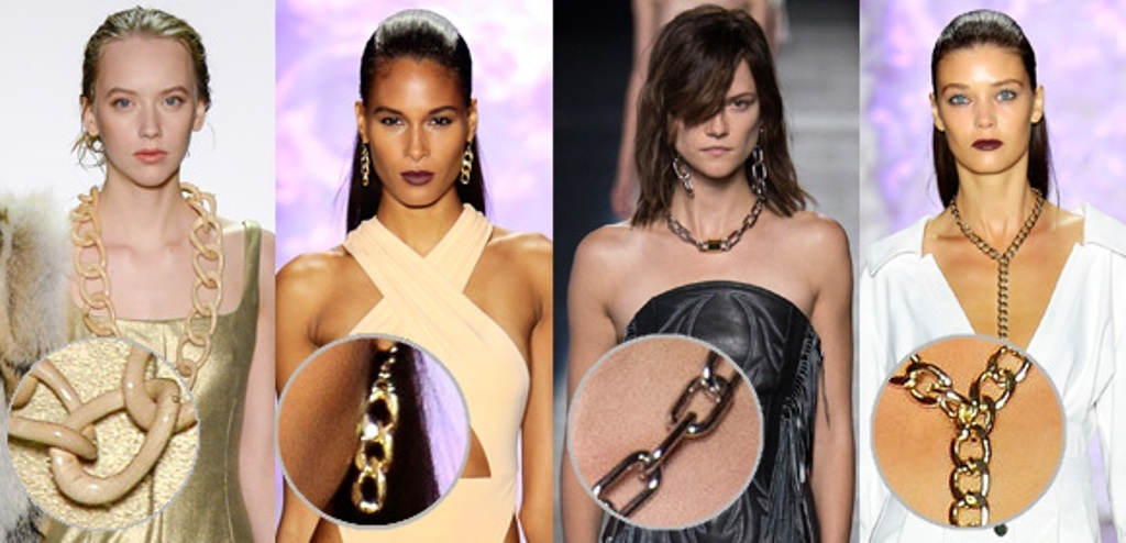 pearls-and-chains-9 65+ Hottest Jewelry Trends for Women in 2020
