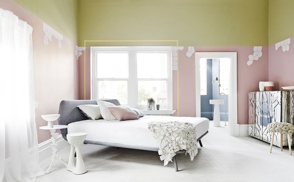 pink-rooms-1 The Latest & Hottest Home Decoration Trends in 2017