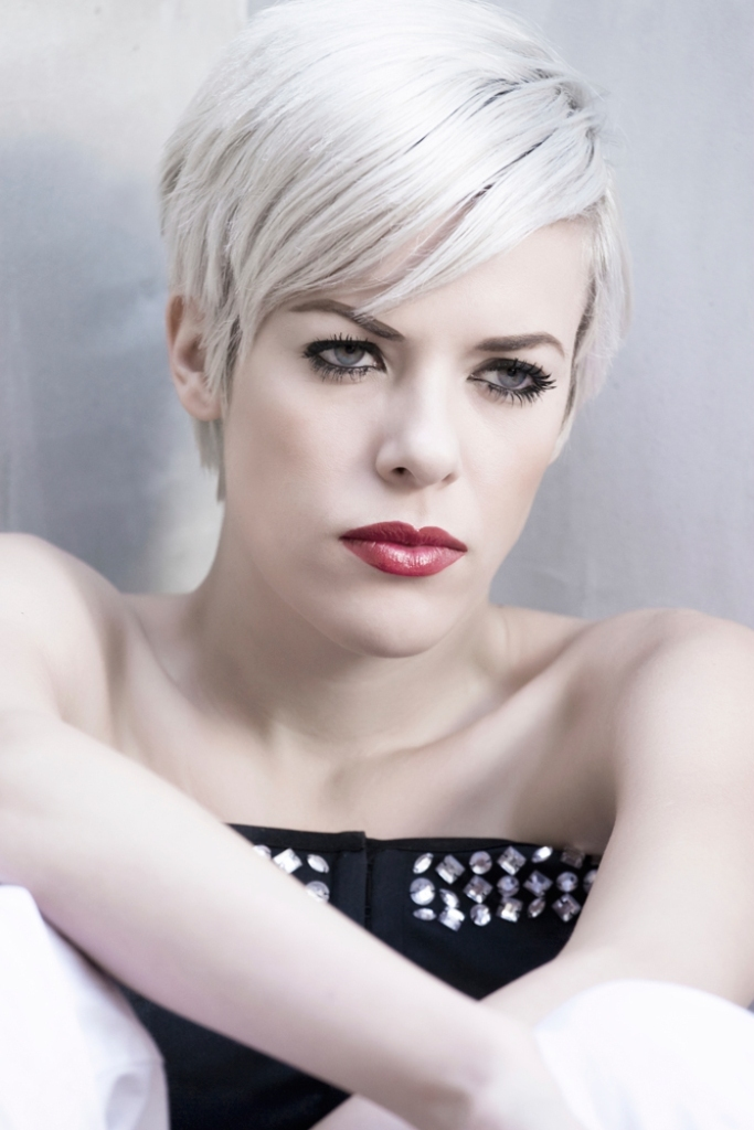 silvery-white-1 20+ Hottest Hair Color Trends for Women in 2020