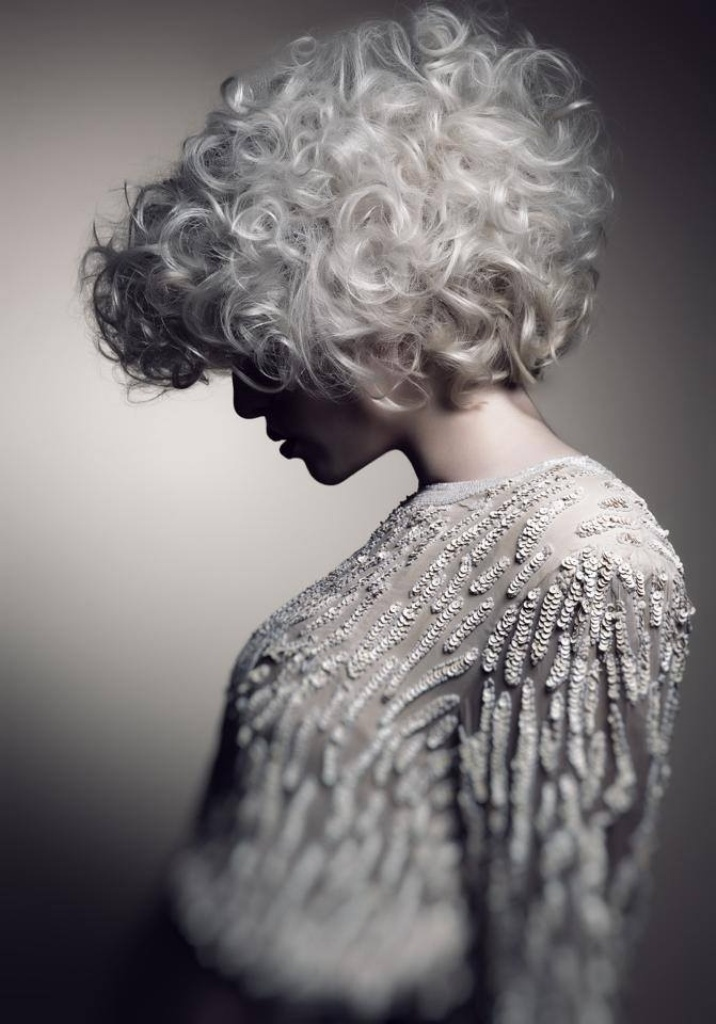 silvery-white 20 Hottest Hair Color Trends for Women in 2017