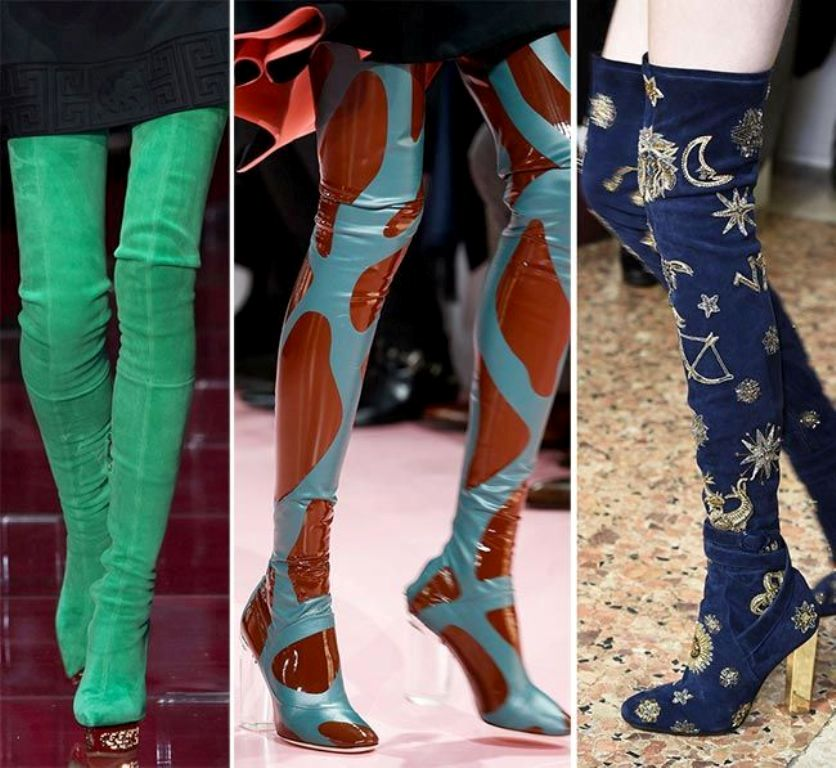 thigh-high-boots-2 Best 16 Shoes Trends for Women