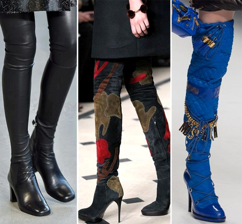 thigh-high-boots-3 The Latest Shoe Trends for Women in 2016