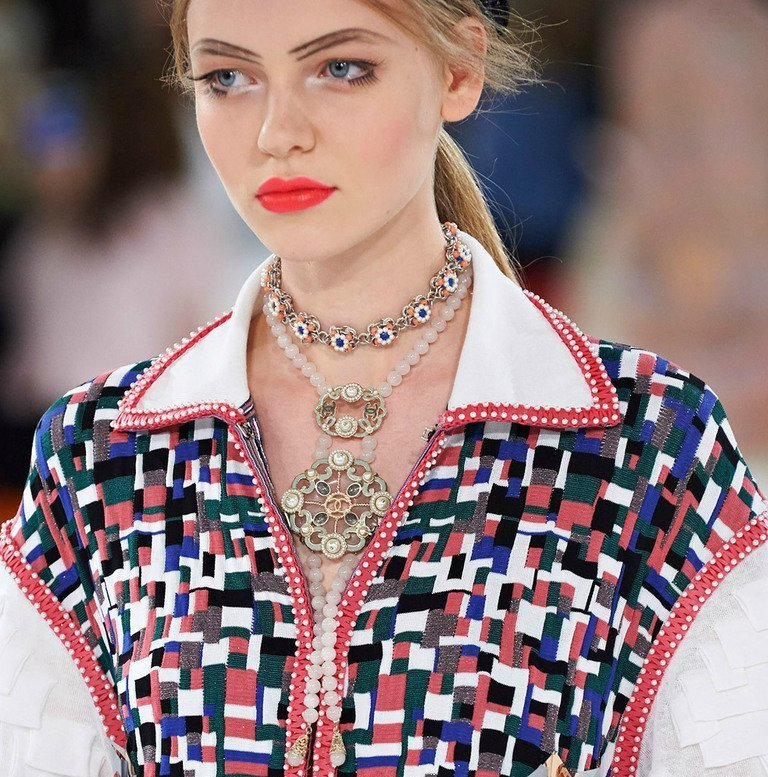 tribal-statement-and-layered-necklaces-7 The Hottest Jewelry Trends for Women in 2016