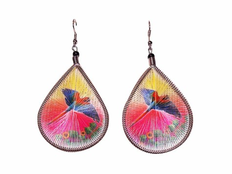13175_colorful-indian-earring-blue-parrot-a-475x356 Accessorize Your Swimwear With These 40 Beach Jewelry