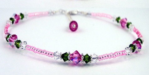 ANK-GAR100b_pink_rose_garden_beaded_anklet-475x241 Accessorize Your Swimwear With These 40 Beach Jewelry