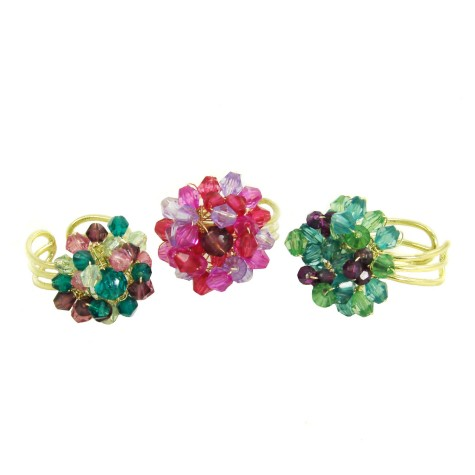 Chrysanthemum-Statement-Rings-475x475 Accessorize Your Swimwear With These 40 Beach Jewelry