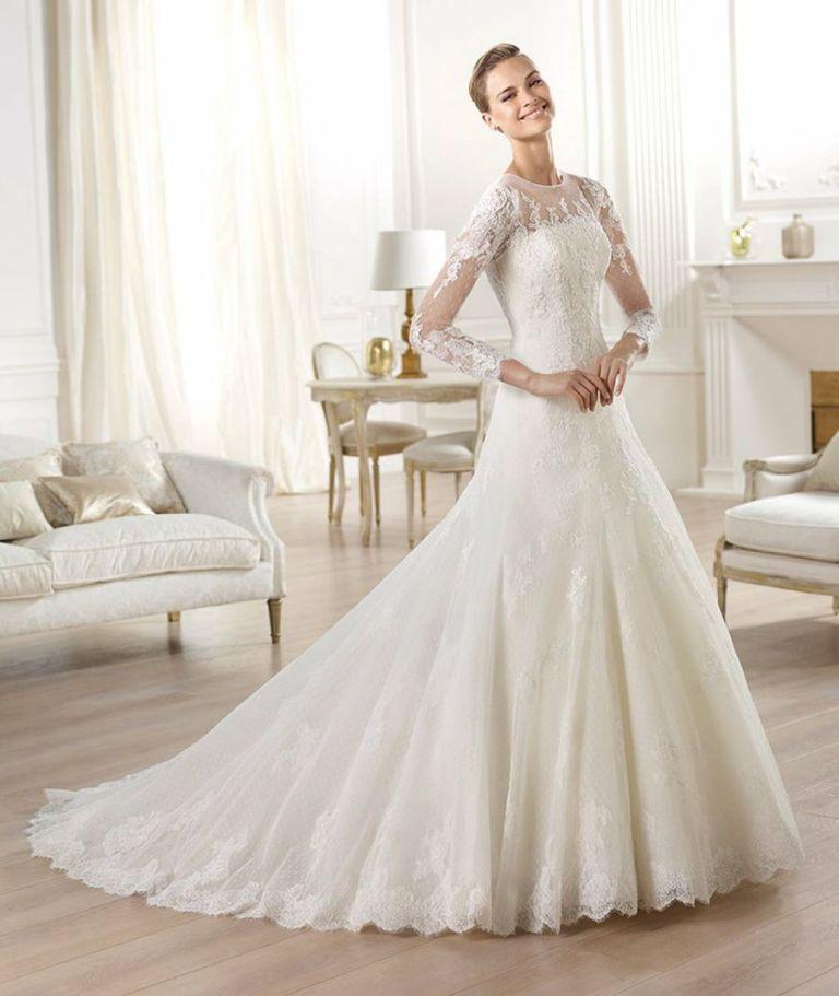 Muslim-wedding-dresses-14 46 Fabulous Wedding Dresses for Muslim Brides 2019