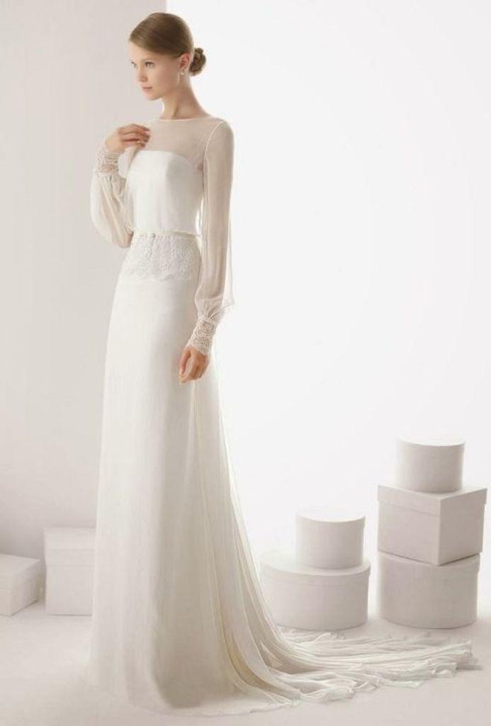 Muslim-wedding-dresses-17 46 Fabulous Wedding Dresses for Muslim Brides 2019