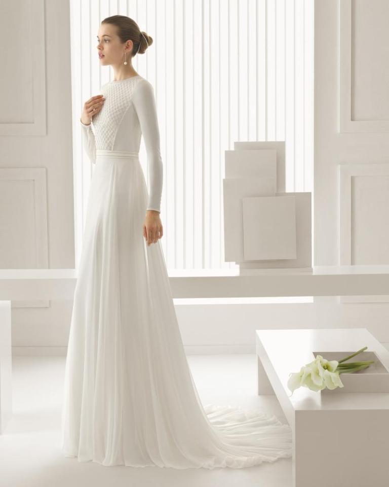 Muslim-wedding-dresses-19 46 Fabulous Wedding Dresses for Muslim Brides 2019