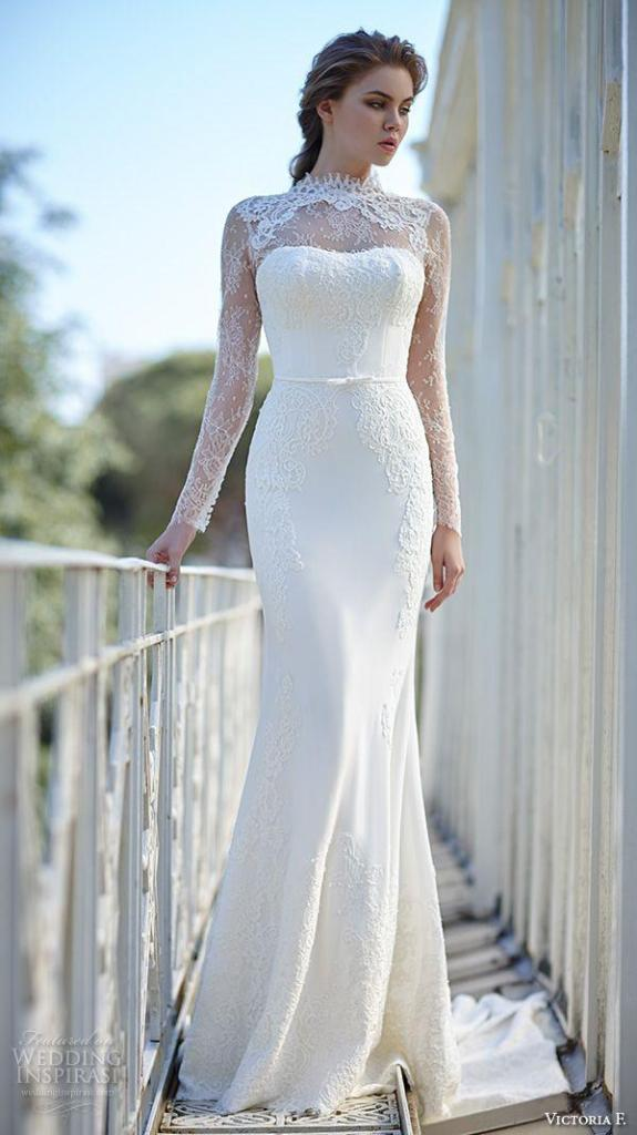 Muslim-wedding-dresses-2 46 Fabulous Wedding Dresses for Muslim Brides 2019
